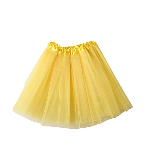 SaiDeng Mini Tutù Con Gonna In Organza Sottogonna Da Balletto,