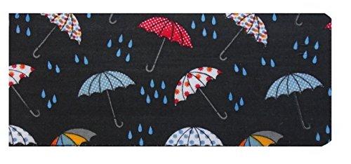 Miss Pretty London jours de pluie parapluies Impression chéquier Portefeuille – Finition brillante