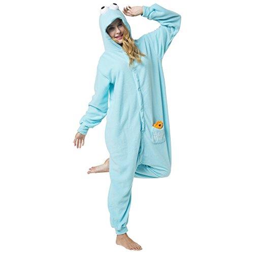8f1cd3b90b Katara Disfraz Pijama de Monstruo de Las Galletas del Barrio Sésamo