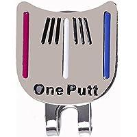 xel_uu.11 Mini Putt - Herramienta de alineación de Pelotas de Golf, Herramienta de Marcador de Bola
