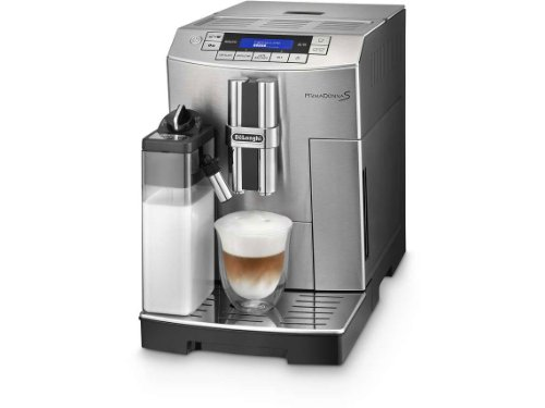De'Longhi PrimaDonna S ECAM 28.466.MB Kaffeevollautomat (Digitaldisplay, integriertes Milchsystem,...