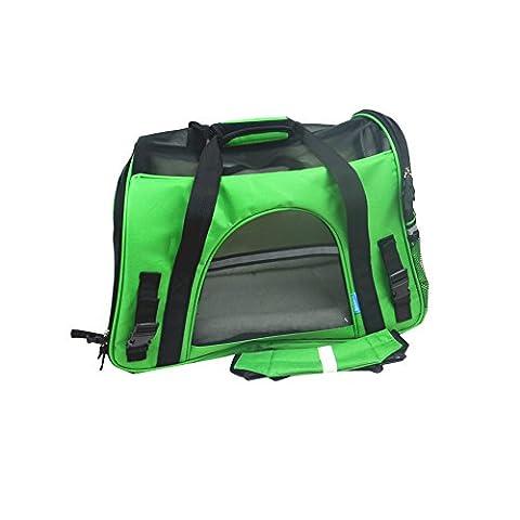 Lily 's Pet Carrier faltbar Weiche Seiten Mash Top und 4Seiten leicht Handtasche oder Schultertasche Outdoor Transportbox Hunde Katze Transportbox Transportkäfig Zelt Hundehütte