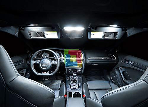 AUTOSRL Kit LAMPADINE LED LUCI Interno SMD 6000K No AVARIA Compatibile con Honda Civic VIII 8