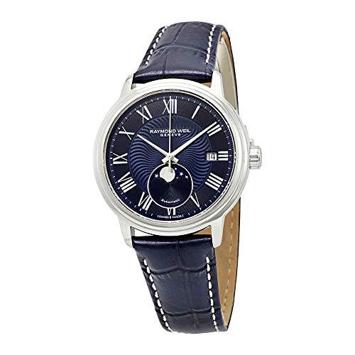 Raymond Weil maestro automatico orologio, 40mm, giorno, fasi lunari, 2239-stc-00509
