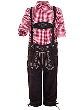 Michaelax-Fashion-Trade Krüger - Kinder Trachten Lederhose, Franz Junior (Artikelnummer: 920-7)