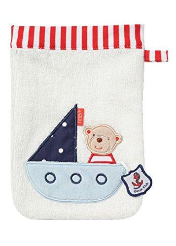 Fehn 078534 Waschhandschuh Teddy in Boot / Waschlappen gebraucht kaufen  Wird an jeden Ort in Deutschland