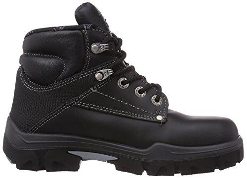 MTS Sicherheitsschuhe M-gecko Nirvana S3 Flex 16105, Chaussures de sécurité mixte adulte Noir - Noir