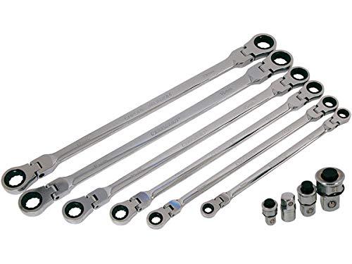 Flexi-Head Ratschenschlüssel Set - Extra Lang 1 St. / S