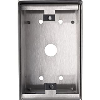 Aiphone Corporation SBX-1G Surface Mount Box for LE-SS-1G or NE-SS-1G Door Stations, 18 AWG Stainless Steel