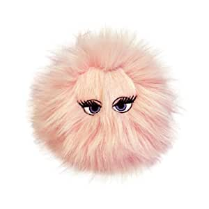 VIPProducts SS-IB-M-PK 'IBall' Dog Toy Plush Exterior Vinyl Interior approximately 10 cm Diameter Pink
