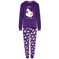 Selena Girl Girls Full Fleece Winter Pyjama Set