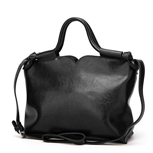 YiLianDa Donna Elegante Pelle Borsette Marca Viaggio Borsa Tracolla Moda Borse da Spesa Borsetta come immagine(2)