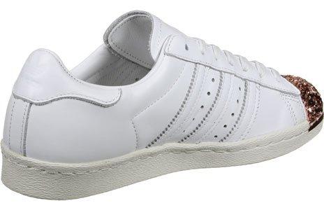 adidas Superstar 80S 3D MT W Scarpa WHITE|METALLIC