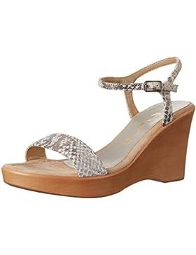 Unisa Damen Rita_17_fv Offene Sandalen mit Keilabsatz