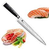 SXL-HD2095 Dellinger Sashimi / Yanagiba Coltello Per Sushi Professionale - Coltello giapponese VG10 Giapponesi 67 Strati Acciaio di Damasco & smussatura da un lato, lunghezza lama: 240 mm