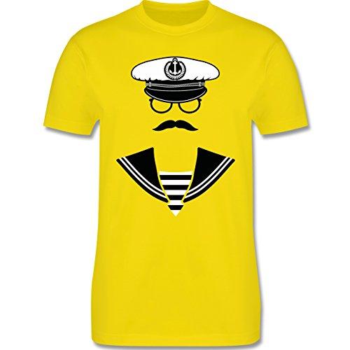 Schiffe - Matrose - Herren Premium T-Shirt Lemon Gelb