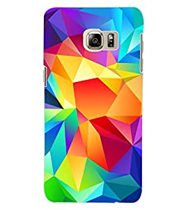 ColourCraft Colourful Pattern Design Back Case Cover for SAMSUNG GALAXY NOTE 5 EDGE