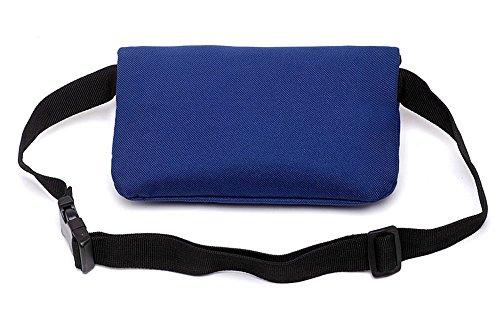 Outdoor peak Nylon klein Gürteltasche Multifunktions-Tasche Fahrrad laufen Brusttasche Blau
