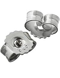 Ohrmutter Silber 925 Metall Verschluss Ohrstecker Ohrring Stopper Feststeller