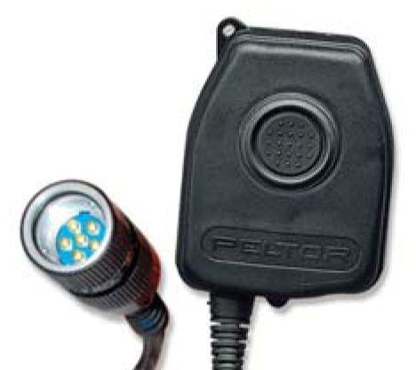 3M Peltor eine/VIC 3Bail Out Anschluss PTT Adapter FL5601 Ptt-adapter