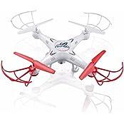 AKASO X5C 4 CH 2,4 GHz 6-Achsen Fernbedienung Quadcopter mit HD Kamera, Gyro Headless, 360-degree 3D Rolling Mode 2 RTF RC Drohne ( Bonus MicroSD Karte & Rotorblätter enthalten )