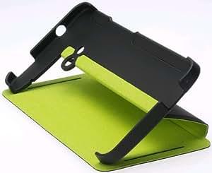 HTC One Flagship Double dip Flipcase HC V841 black/green Original