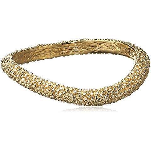 Il quinto anno di Roberto Coin asimmetrica-Bracciale in argento placcato in oro con autografo, colore: (Roberto Coin Designer Bracciale Designer)