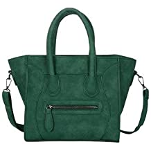 bd5e1f1866173 AASSDDFF Mode Lächeln Frauen Tasche Scrub Pu Frauen Handtaschen Crossbody  Taschen Für Frauen Designer Trapeze Messenger