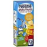 Nestle ptit fruits smoothie pomme banane mangue ananas 200ml - ( Prix Unitaire ) - Envoi Rapide Et Soignée