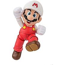 "Bandai Tamashii Nations S.H.Figuarts Fire Mario ""Super Mario"" Action Figure"