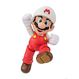 Bandai Tamashii Nations S.H.Figuarts Fire Mario Super Mario Action Figure 9