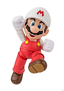 BANDAI Tamashii Nations S.H.Figuarts Fire Mario Super Mario Action Figure