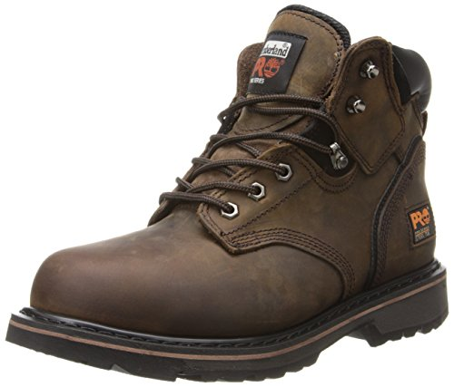 Timberland PRO Men's Pitboss 6 Steel-Toe Boot,Brown/Brown,9 M