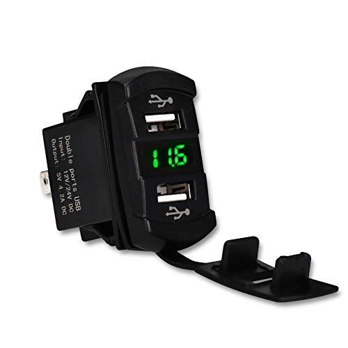 TOOGOO 5V 4.2A Enchufe Adaptador Cargador Coche USB