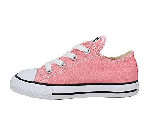 Converse Chuck Taylor All Star Enfant Seasonal 2V Ox, Baskets mode mixte enfant Daybreak Pink