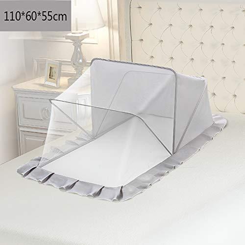 YZW Baby Mosquito Bug Netz,atmungsaktive Schattierung Staubdicht Portable Folding Bodenlose Moskitonetz Zum Aufhängen-p 110x60x55cm(43x24x22inch)