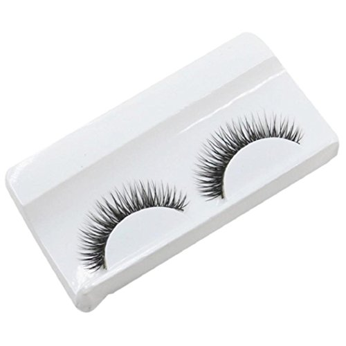 Wawer False Eyelashes  1 Pair Luxury 3D Fluffy False Lashes  Long Feather Natural Fake Eye Lashes Professional Makeup Handmade Lashes Crisscross Messy Extension Tools Cosmetic For Party Club  Black