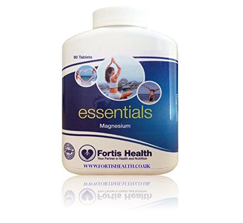 Citrate) 90 Tabletten (Fortis Health Magnesium. 90 Tabletten. GMP Beglaubigte Tabletten. Frei von - Zucker, Salz, Weizen, Gluten, Milchzucker, Hefe, Milchprodukte, künstlichen Konservierungsmitteln, künstlichen Färbemitteln, Farben und Würzen)