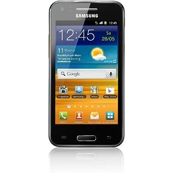 Samsung Galaxy Beam i8530 Smartphone (10,2 cm (4 Zoll) Touchscreen, 5 Megapixel Kamera, 3G mit HSPDA, Android 2.3) ebony-gray