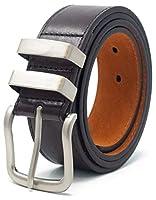 Homme 40mm ceinture en cuir avec doublure de sven-oswald Smart Casual jeans costume