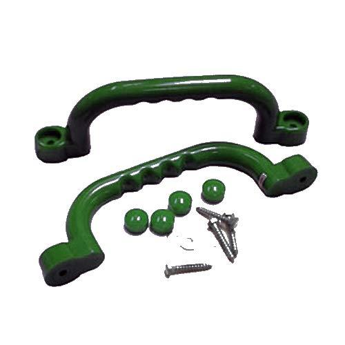 Unbekannt Haltegriffe für Spielanlagen dunkelgrün, paarweise