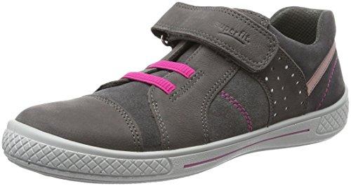 Superfit Tensy Mädchen Sneakers Grau (Stone Kombi 06)