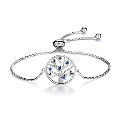Charms Charm-armband Lucky (Das Leben des Baums geformt Charm Armband Frauen Elegant Lucky Einstellbare Kette Armband Mädchen)
