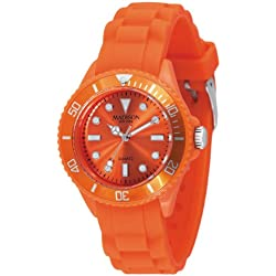 Madison New York Men's Quartz Watch Candy Time Mini L4167-04 with Plastic Strap