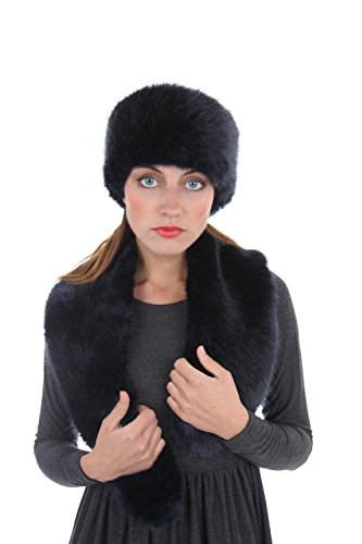 Ladies Womens Milan Faux Fur Warm Winter Cossack Russian Hat