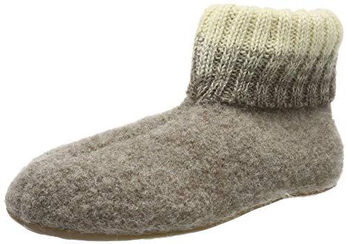 Haflinger Everest Iris, Hausschuhe, Unisex-Erwachsene, reine Wolle