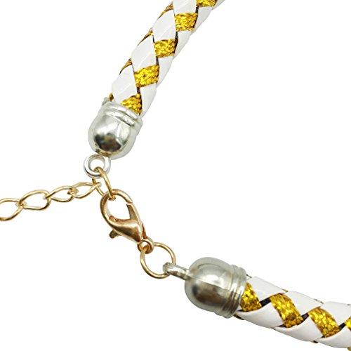 Weihnachten glückliches Geschenk Hundehalsband Halskette mit Glöckchen für Kleine Hunde Welpen Katzen Silberfarbe S - 5