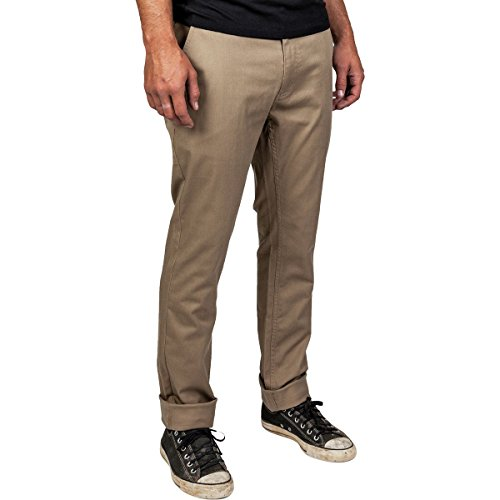 Brixton, Pantaloni sportivi Uomo Grain Chino cachi