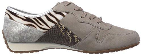 Gabor Shoes, Scarpe Stringate Basse Derby Donna Grigio (Grigio (visone))