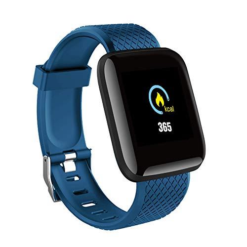 9302sonoaud Braccialetto Intelligente dello Sport di pedometro del Monitor di frequenza cardiaca dello Schermo di 1.3inch per Android iOS Blu